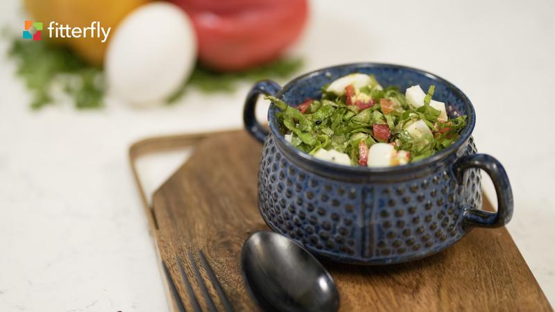 Egg Vegetable Salad