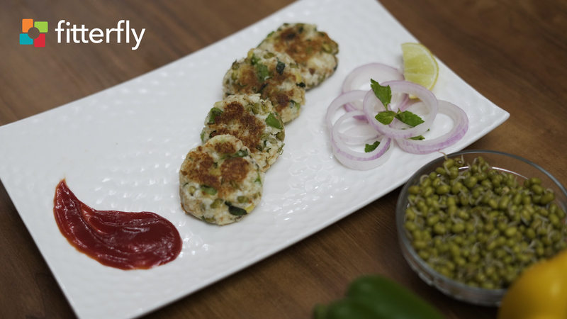 Sprouty Mint Kebab