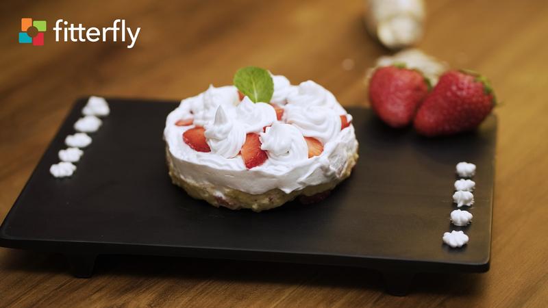 Strawberry Oats Pudding