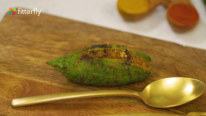 Stuffed Bittergourd Dry Vegetable
