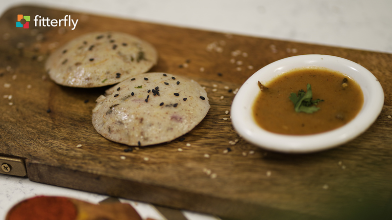 Multigrain Vegetable Idli With Sambhar