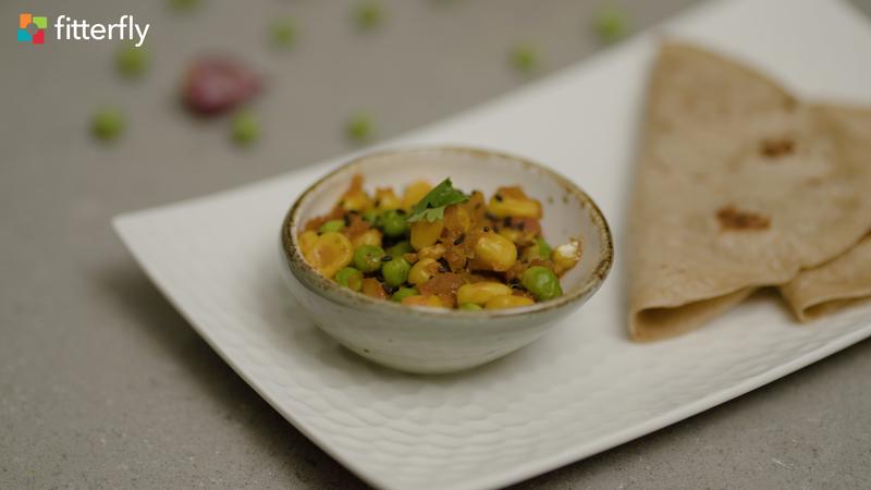 Corn Peas Dry Vegetable