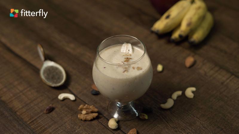 Apple Banana Milkshake