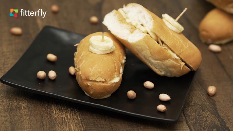 Peanut Butter Banana Hot Dog