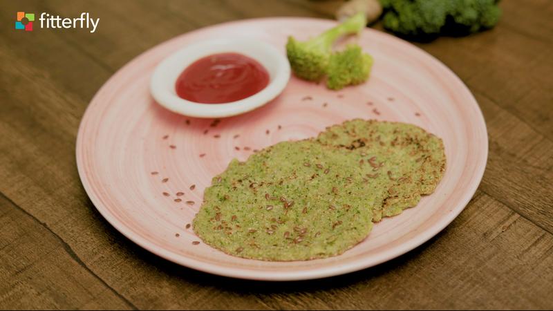 Oats Broccoli Pancake