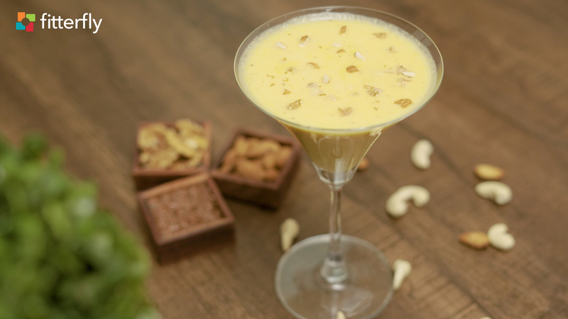 Muskmelon Coconut Smoothie