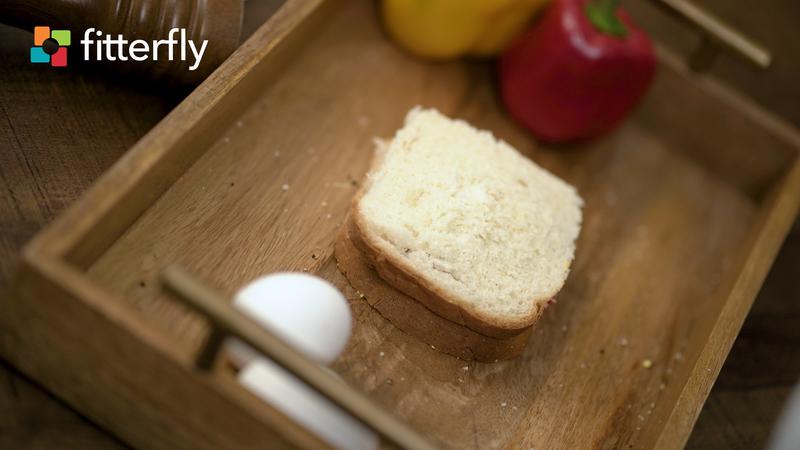 White Bread Boiled Egg Sandwich