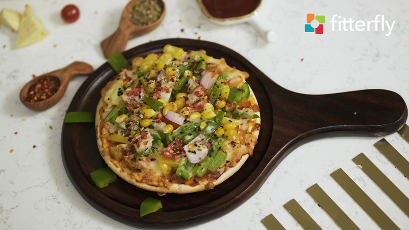Vegetable Pizza Homemade