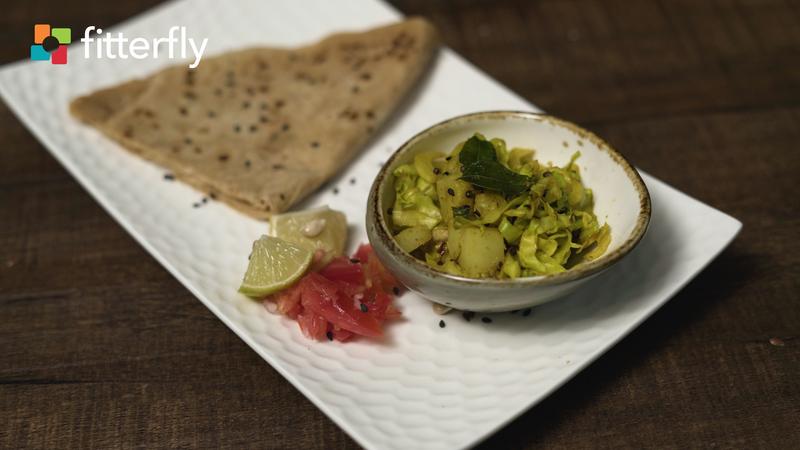 Aloo Cabbage Sabji