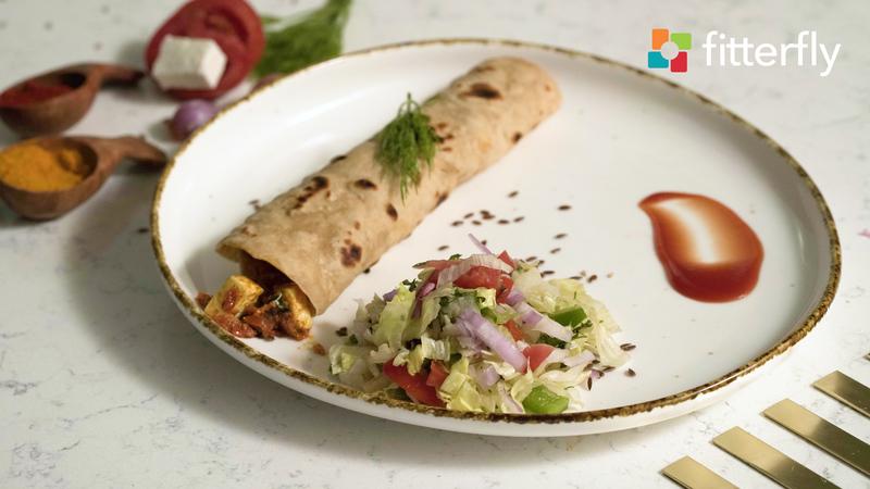 Vegetable Paneer Roll