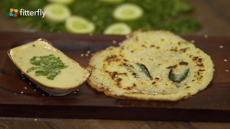 Cucumber Rava Dosa