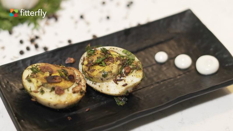 Masala Boiled Egg
