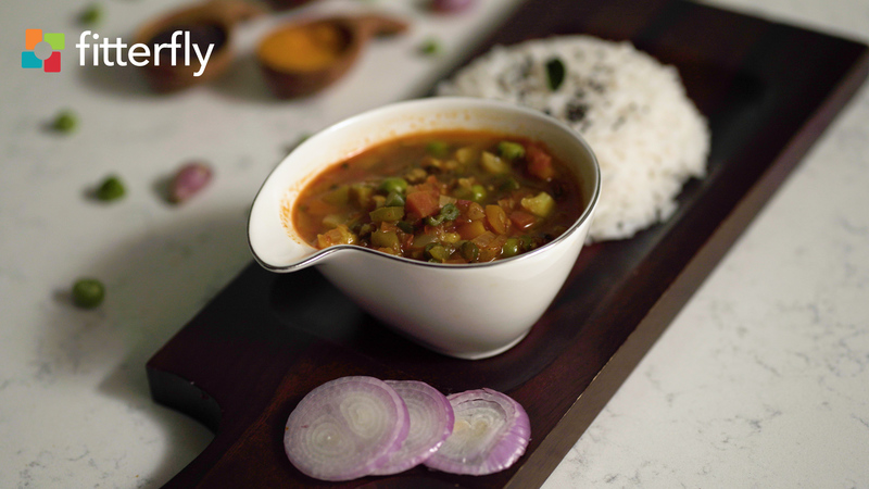 Mixed Vegetable Gravy With Oil