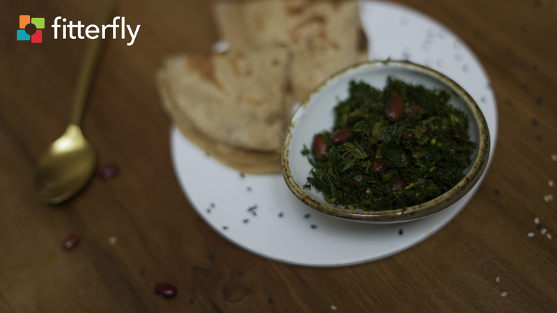 Dill Rajma Dry Vegetable