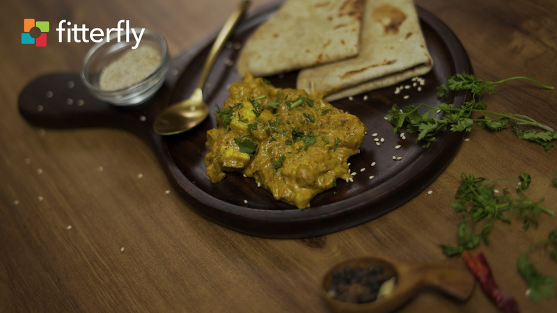 Hyderabadi Paneer Curry With Nuts & Seeds