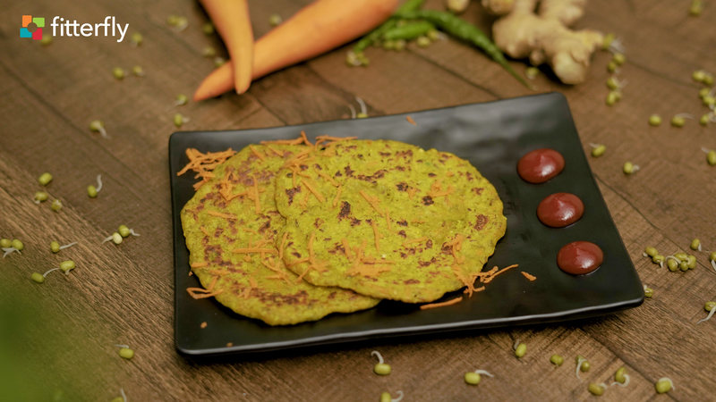 Sprouts Carrot Pancake