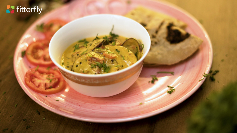 Eggplant Besan Curry