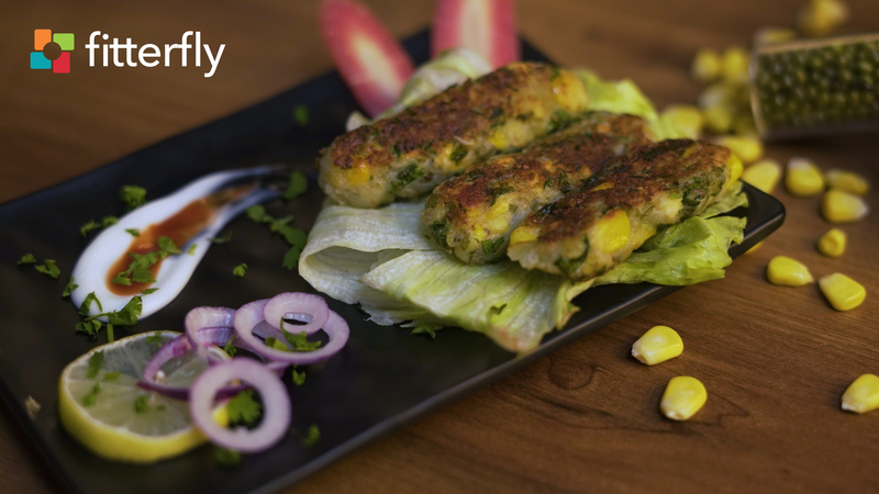 Sprouted Moong Fritter