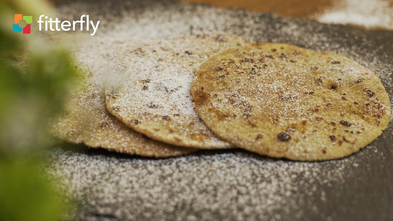 Amaranth Rice Flour Paratha