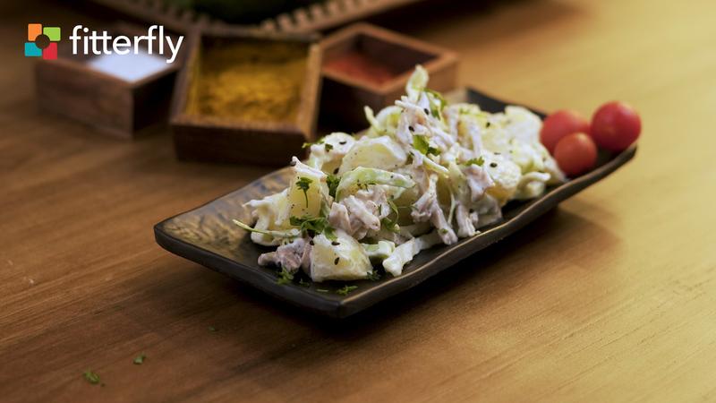 Potato Chicken Mayo Salad