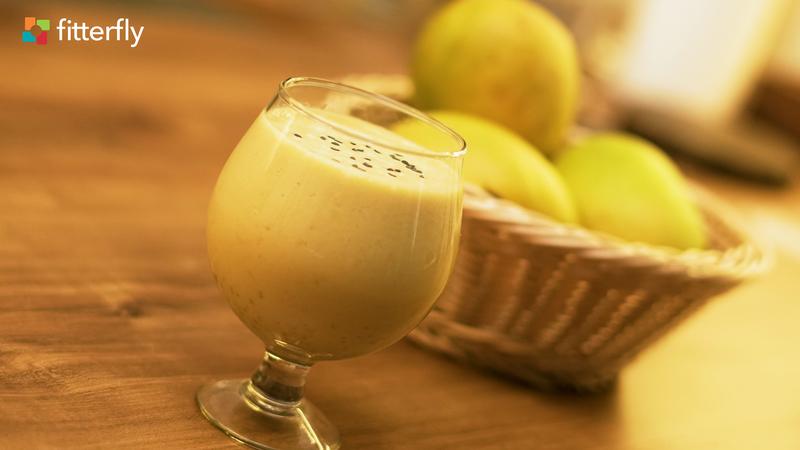 Soy Milk Mango Smoothie