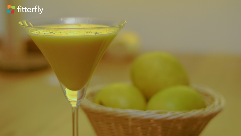 Mango Almond Milk Smoothie