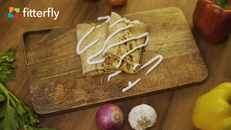 Vegetable Wheat Tortilla Wrap