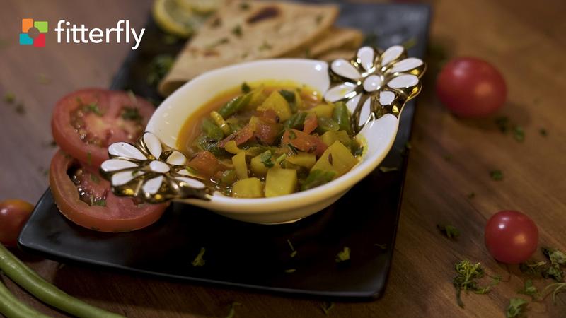Beans Alu Masala Curry