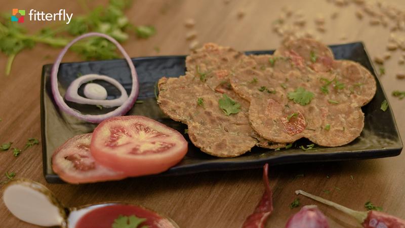 Tomato Mysore Paratha