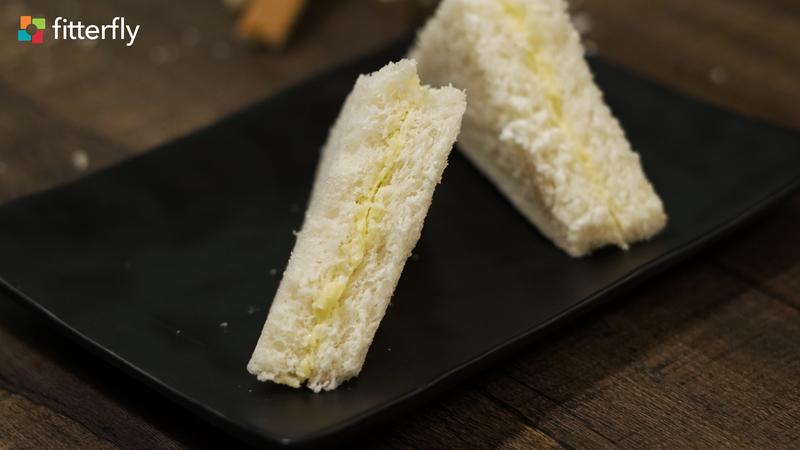 White Bread Butter Sandwich