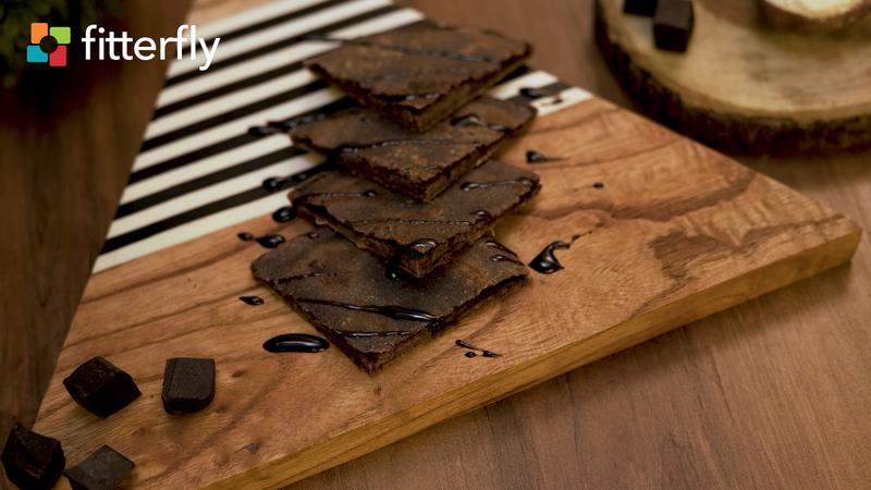 Chocolate Ragi Kulcha With Ghee