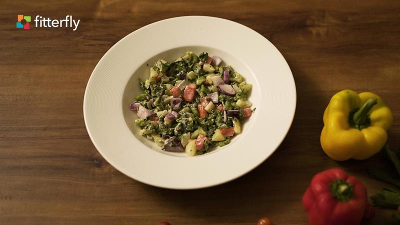 Mayo Greek Salad