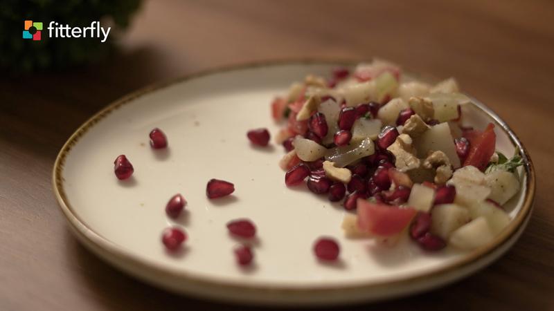 Potato Pomegranate Salad