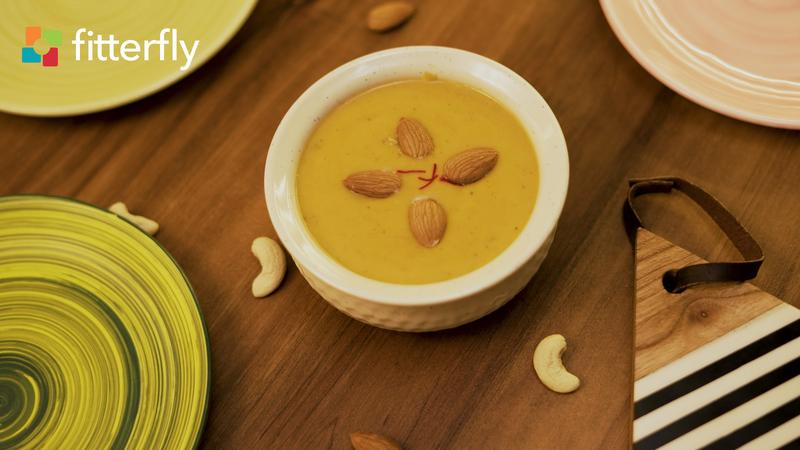 Mango Cow Milk Nutty Porridge
