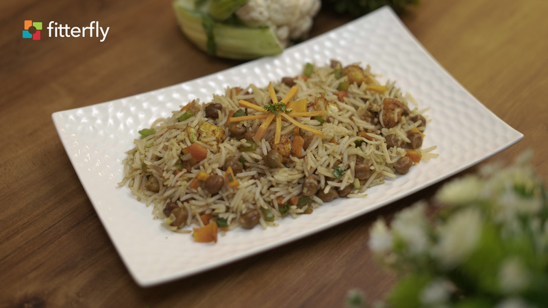 Chana Cabbage Fried Rice