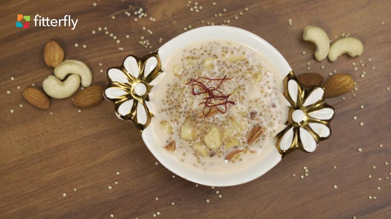Quinoa Cow Milk Porridge