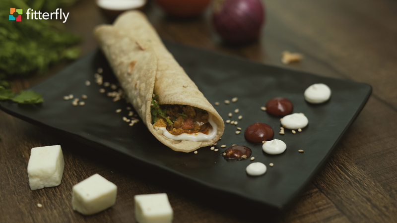 Vegetable Paneer Roll With Cornflour