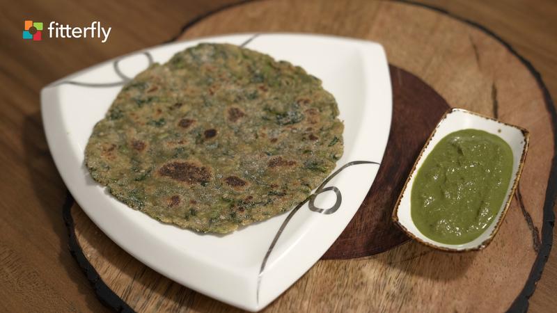 Gluten Free Methi Paratha
