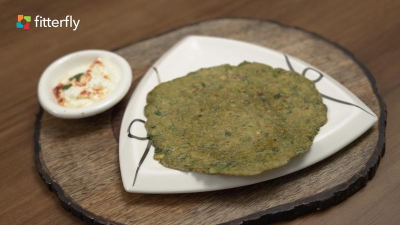 Methi Bajra Roti