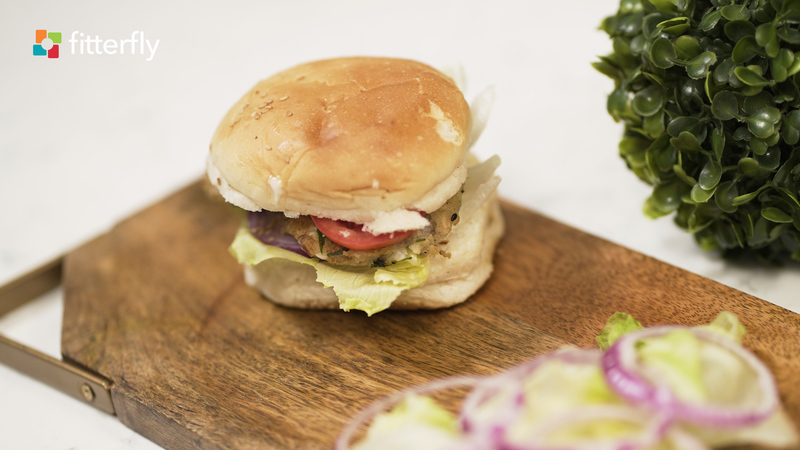 Chicken Burger Homemade