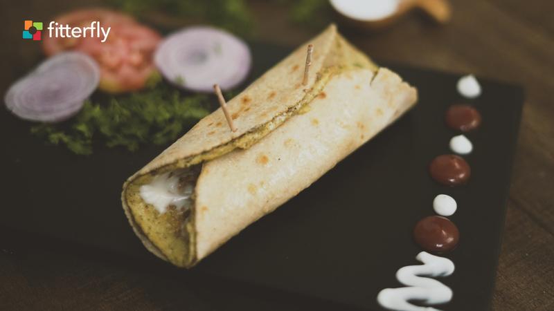 Egg Omelette Cornflour Roll