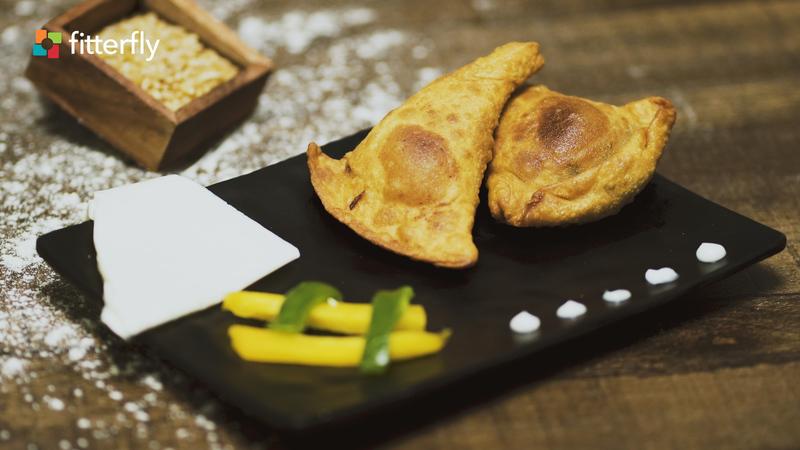 Cheese Pumpkin Samosa