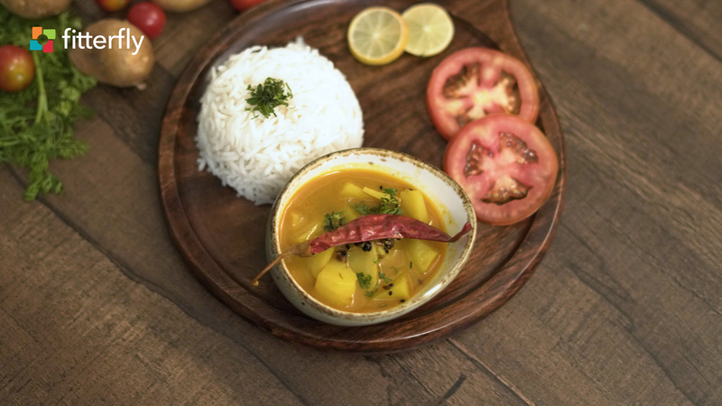 Bengali Potato Curry With Oil