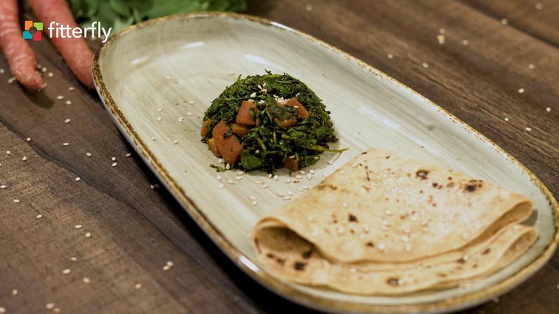 Fenugreek Carrot Dry Vegetable