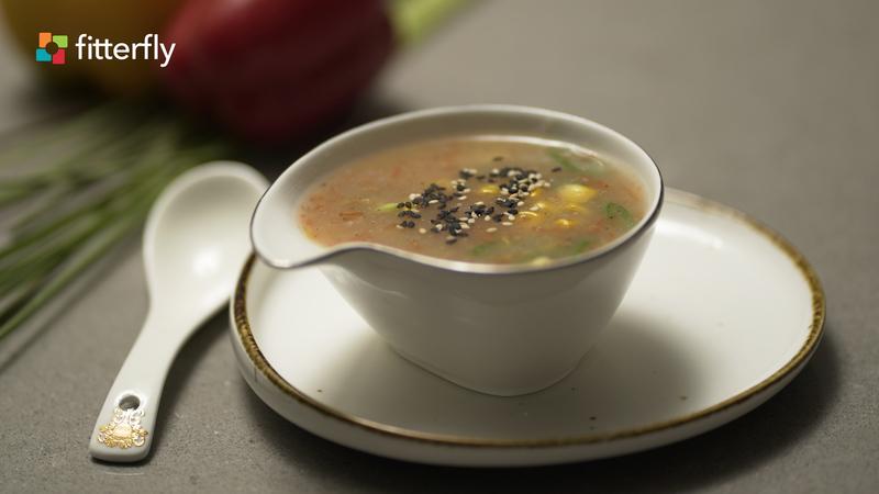 Sweet Corn Clear Soup