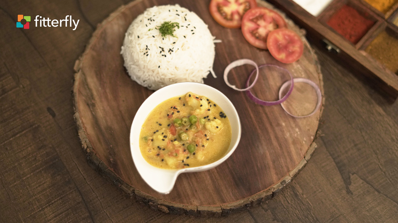 Goan Vegetable Curry With Coconut Milk