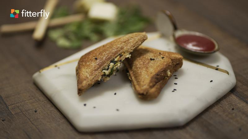 Paneer Sandwich Toast
