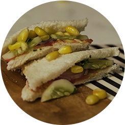 Vegetable Corn Sandwich