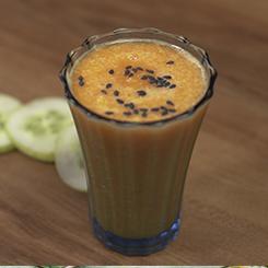 Carrot Orange Cucumber Turmeric Juice