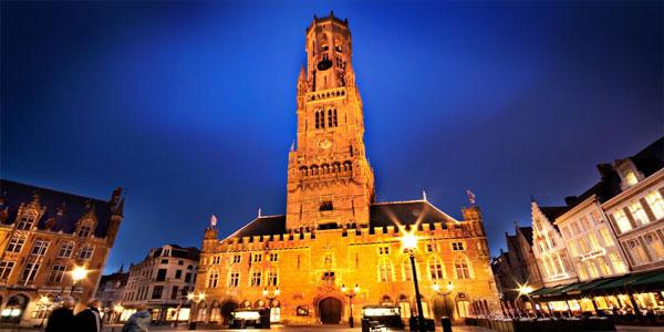Belfry-and-Halle,-Bruges